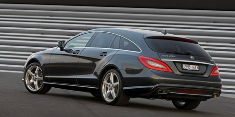 Mercedes-Benz CLS Shooting Brake: coupe-style wagon arrives