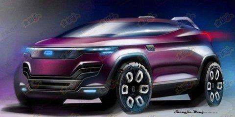Qoros HQ3 Cross compact SUV teased