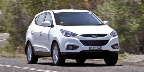 Hyundai ix35 SE becomes local brand's first Europe-sourced model