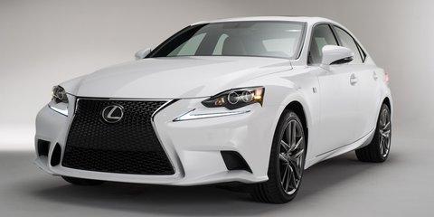 2013 Lexus IS revealed: aggressive design for premium mid-sizer