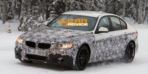 BMW M3 Spied - 2