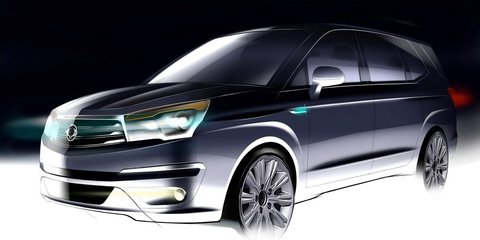 Ssangyong Stavic: first look at sharper second-gen people-mover