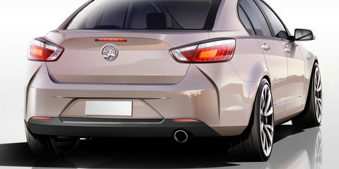 Holden VF Commodore: exterior design overview
