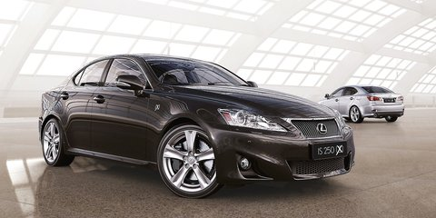 Lexus IS250, IS350 increase X factor