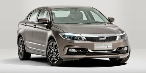 Qoros 3 sedan, wagon, hybrid crossover headed to Geneva