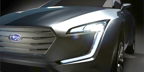 Subaru Viziv concept previews new crossover design language