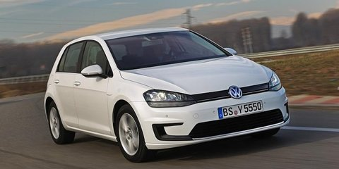 Volkswagen e-Golf uncovered