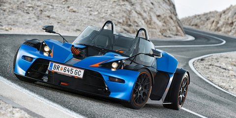 KTM X-Bow GT: street-legal go-kart gets a windscreen