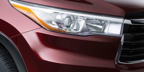 2014 Toyota Kluger: sharper third-gen SUV teased