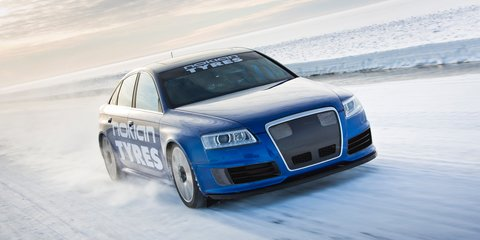 Audi RS6 sets 335km/h world record… on ice