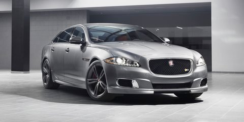 Jaguar XJR: first official picture