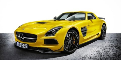 Mercedes-Benz SLS AMG Black Series a near sell-out at $639,000