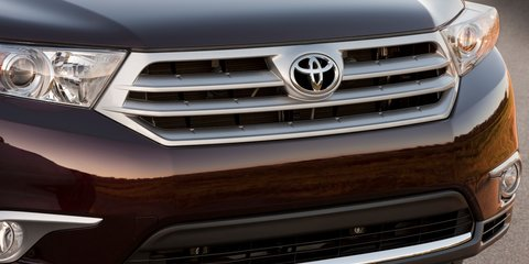 Toyota Kluger: next-gen SUV to debut in New York
