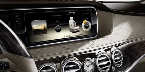 Mercedes-Benz S-Class interior revealed