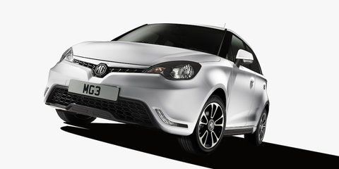 MG 3 light hatch debuts; coming to Oz late-2013