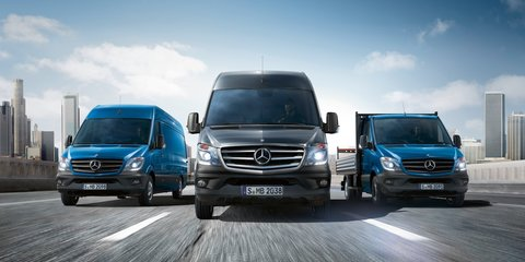 Mercedes-Benz Sprinter: first Euro 6 compliant van range unveiled