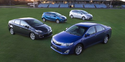 Toyota Camry Hybrid overtakes Prius in local sales
