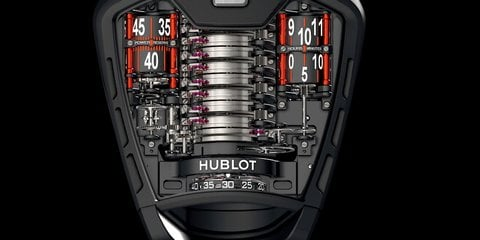 Hublot MP-05 LaFerrari watch pays tribute to Italian supercar