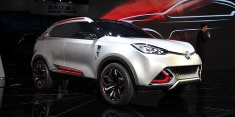 MG CS concept: baby SUV debuts in Shanghai