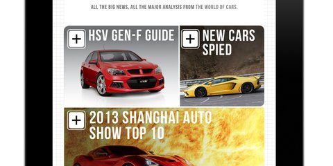 Holden VF Commodore SV6 v Ford Falcon XR6 headlines CarAdvice Magazine June
