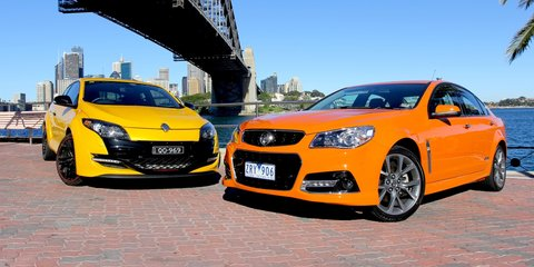 Holden Commodore SS v Renault Megane RS: Comparison Review