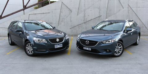 Holden Commodore Evoke Sportwagon v Mazda 6 Touring: Comparison Review