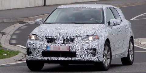 Lexus baby SUV spied in early testing