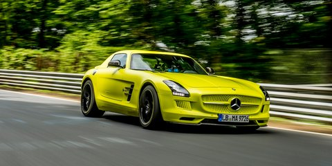 Mercedes-Benz SLS AMG Electric Drive breaks Nurburgring EV record