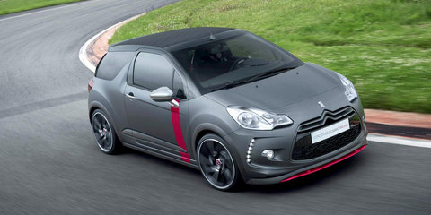 Citroen DS3 Cabrio Racing revealed