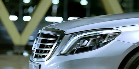 Mercedes-Benz S63 AMG teaser video