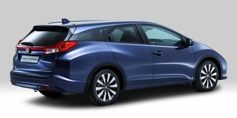Honda Civic Tourer: production wagon variant revealed