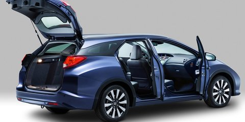 Honda Civic Tourer: production wagon variant revealed