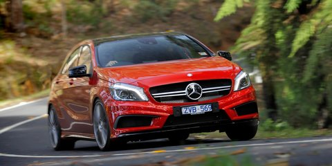 Mercedes-Benz A45 AMG Review