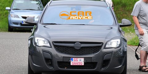 Opel Insignia OPC wagon spied