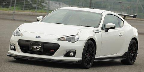 Subaru BRZ tS STI concept revealed in Japan