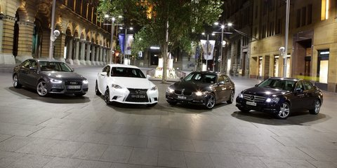 Compact luxury comparison: Lexus IS v BMW 3 Series v Audi A4 v Mercedes-Benz C-Class