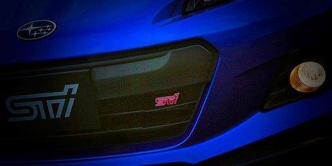 Subaru BRZ STI: enhanced Japanese sports car teased