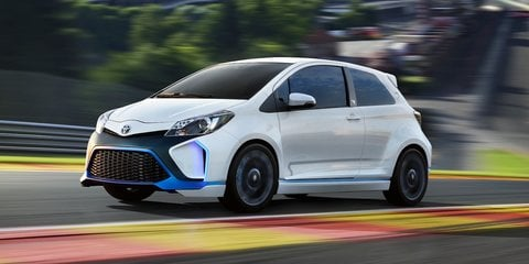 Toyota Yaris Hybrid-R concept: 313kW pocket rocket revealed