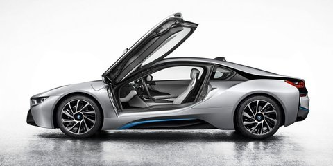 BMW i8: first images of production hybrid sports car leaked
