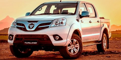 Foton Tunland: Chinese ute updated for Oz