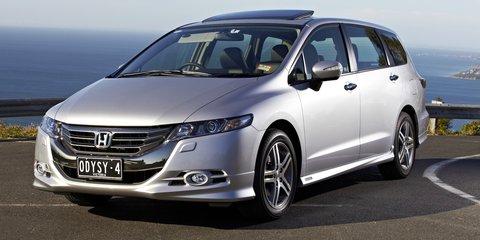 Honda Odyssey drops to $35,100