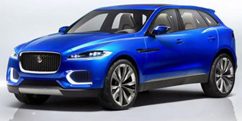 Jaguar C-X17 SUV Concept: more images leaked