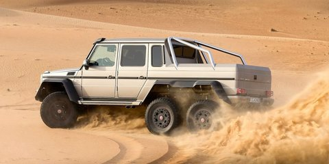 Mercedes-Benz G63 AMG 6x6 priced at $547K - Photos (1 of 3)