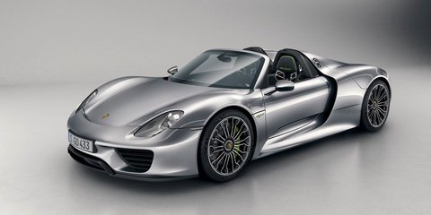 Porsche 918 Spyder revealed in final production form