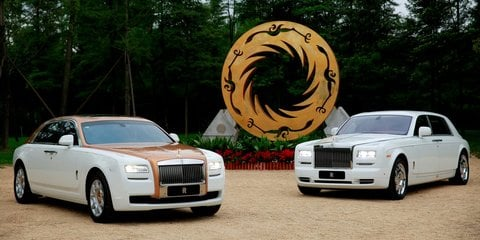 Rolls-Royce Ghost Golden Sunbird revealed