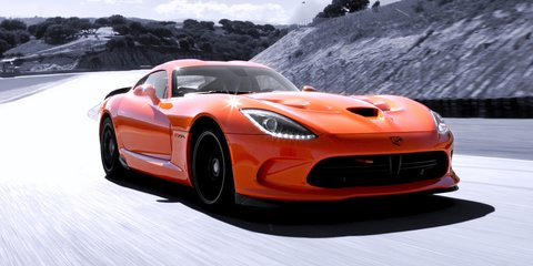 2014 SRT Viper TA to cost more than $120,000; 'rain mode' added
