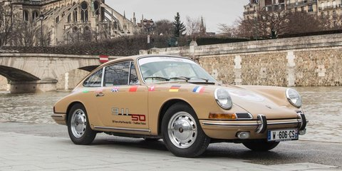 Porsche to mark 50 years of 911 with Sydney Harbour Bridge crossing