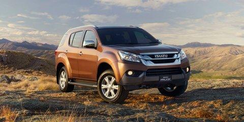 Isuzu MU-X: ute-based SUV on sale in December from $40,500