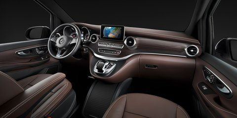 Mercedes-Benz V-Class: Viano replacement interior revealed