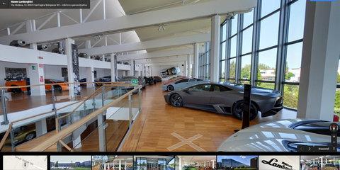 Lamborghini launches Google Maps virtual museum tour